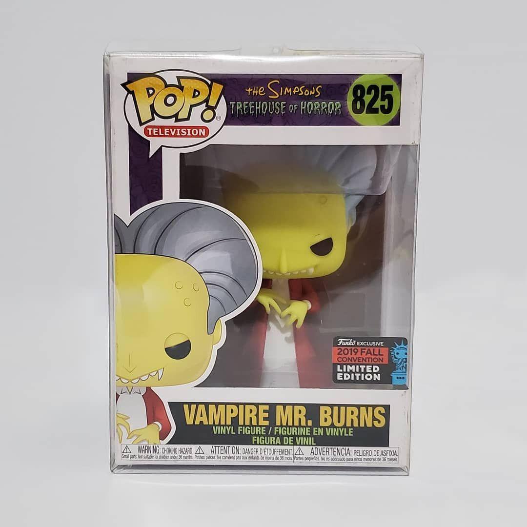 Vinyl--Simpsons Pop Mr Burns as Dracula NYCC 2019 US Exclusive Pop Vinyl ...